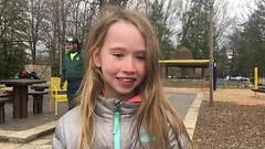 Video - Girl tells about climbing tree (Montgomery Parks, MNCPPC) Tags: popupinmontgomeryparks treeclimbing woodsidepark winter january2017