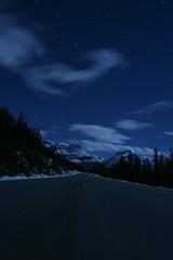 Icefields Parkway (Wild & Free Photography) Tags: stars night sky nightsky banff nationalpark banffnationalpark icefieldsparkway canada alberta nightphotography nikon tokina