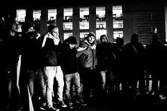 < 3. FREE THE PEOPLE > (JungerNeuköllner) Tags: syria freethepeople people demo arab peace songs music raid usa russia killings war bw blackw white sw schwarz weis dance ring berlin brandenburgertor brandenburggate 1365