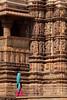 Ornate (peterkelly) Tags: digital canon 6d india asia khajuraho kamasutratemple stone sandstone woman walking carving medieval temple ornate decorative statue