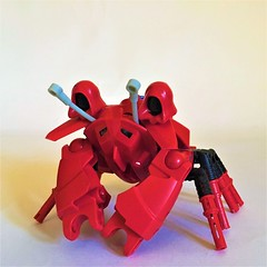 Red Rock Crab (Gringat) Tags: animal lego technic npu crustacean