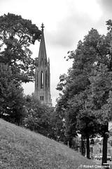Metz - France (2011) (Robert Claessens) Tags: robert claessens bob metz france clocher tower citytrip voyage travel bw nb