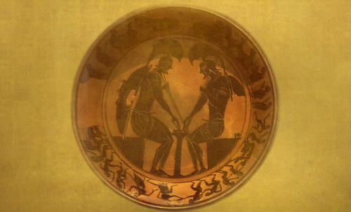 "Petteia - Ludus Latrunculorum  / Iconografía de las civilizaciones helenolatinas • <a style=""font-size:0.8em;"" href=""http://www.flickr.com/photos/30735181@N00/32522204855/"" target=""_blank"">View on Flickr</a>"