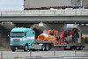 Freightliner Argosy (OH) (Trucks, Buses, & Trains by granitefan713) Tags: truck bigrig bigtruck tractortrailer trucktractor flatbed stepdeck freightliner freightlinertruck freightlinerargosy argosy cabover coe