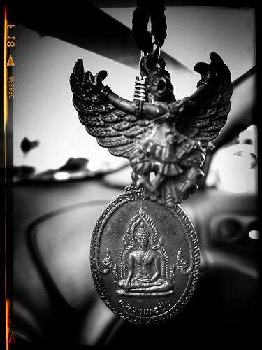 Garuda & Buddha