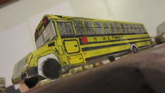 X290 - A-1 Transit Bus #53 (Etienne Luu) Tags: paper cardstock school bus model a1 transit inc blue bird corporation vision