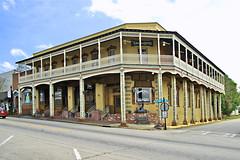The Grand Hotel (redhorse5.0) Tags: hogansvillegeorgia grandhotel tearoomandsweetshoppe georgiasmalltowns towns historicsmalltowns historicoldhotel oldbuilding redhorse50 sonya850 lodging
