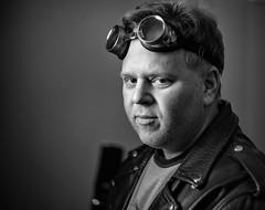 Tony V.-1800 (Jackx001) Tags: canada jacknobre march2017 ontario portrait portraits tonyviklicky toronto fuckingaround brandy lessons goggles steampunk brandywisdom