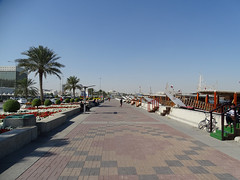 Al Corniche, Dhow harbour (Daniel Brennwald) Tags: corniche doha katar qatar dhow
