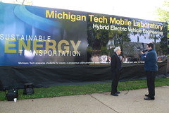 Michigan Tech's Mobile HEV Lab Visits Capitol Hill - April 2012