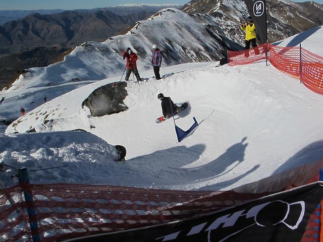 7 July NZ Snowboarder Banked Slalom 20120382