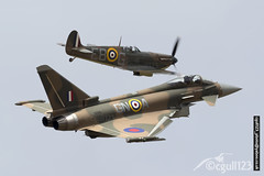 Synchronisity (cgull123) Tags: canon eos pair eurofighter spitfire typhoon synchro ebg 6d fgr4 gnoa 100400mkii