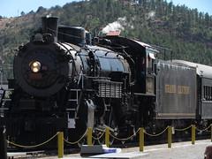 Grand Canyon Railway steam loco No 4960. (johnpaddy22) Tags: travel arizona tourism williams grandcanyon loco locomotive steamtrain steamlocomotive 4960