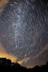 IMG_1321c Startrails (alanstudt) Tags: ohio canon stars charm nightsky 8mm darksky starrynight milkyway f35 startrail perseids adobelightroom t4i rokinon shotinrawformat alanstudt