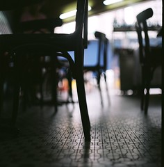 。 (Ifitis) Tags: light pentacon chair mosiac six tl black bokeh floor biometar80mmf28 malaysia kualalumpur bukitbintang