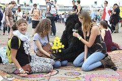 The Gorillas by Creature Feature (Júlia Júlia Hoffmann) Tags: streetperformance gorillas foolsparadise creaturefeature