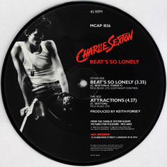 Charlie Sexton - Attractions (Leo Reynolds) Tags: xleol30x squaredcircle picturedisc picture disc 45rpm record single vinyl platter 7inch sqset121 canon eos 40d xx2015xx sqset