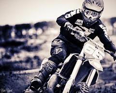 The Knight full focus (Bas_Gijsel) Tags: monochrome race speed one sand focus ride bell go fast ktm moto 100 rider motocross mx 125cc motorcross 2stroke mx2 mxgp