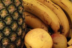 AppleBananaPineApple. (PEDROARSKY) Tags: apple frutas fruits brasil saopaulo banana pineapple abacaxi maca cambuci