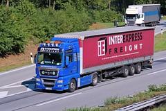 MAN TGX 18.540  Inter Express Freight (karl.goessmann) Tags: man a3 trucks ruse tgx18540 interexpressfreight