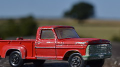 Country Strong (mitchell_dawn) Tags: red ford truck toys country pickup toycar diecast superfast matchboxcars fordtough macromondays beginswiththeletterd