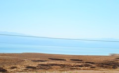 sink holes (ekelly80) Tags: summer water drive israel scenery view desert deadsea sinkholes august2015