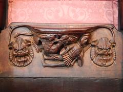DSCN1906 (Richard Paul Carey) Tags: cathedral medieval carlisle misericords carvedwoodwork