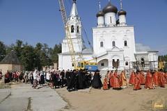 065. Patron Saints Day at the Cathedral of Svyatogorsk / Престольный праздник в соборе Святогорска
