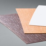 薄物メラミン不燃化粧板の写真
