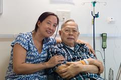 Uncle Kavi and his daughter (@pigstagram) Tags: hospital siriraj