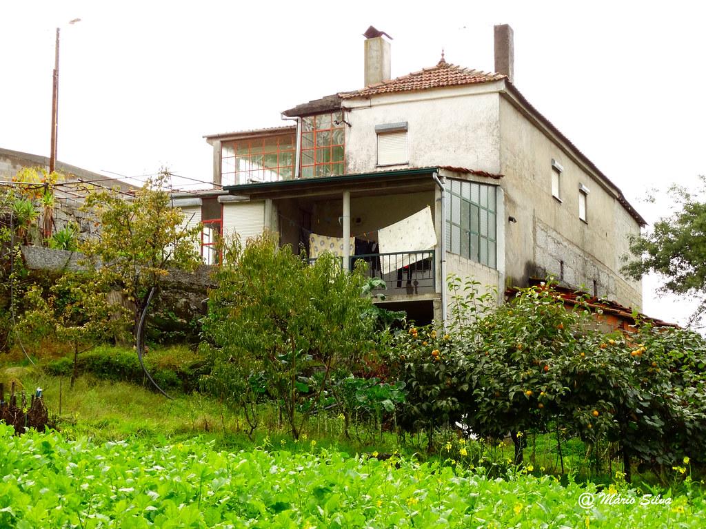 Águas Frias (Chaves) - ...uma casa ... ladeada de campo ...