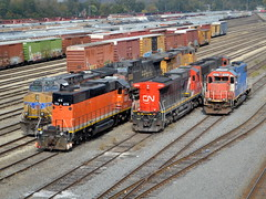 The rainbow of Joliet (Robby Gragg) Tags: up cn joliet gtw ble 2020 878 gp382 5624 5851 sd382 c408 ac4400cw