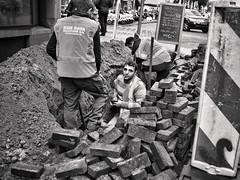 Cig Break (RobK Street Photography) Tags: work break thenetherlands streetphotography denhaag smoking safety health occupational worker thehague arbeid straatfotografie