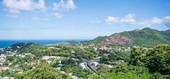 Mt.Rush Panoramic View (Andy Johnson Photos) Tags: seascape landscape nikon panoramic grenada caribbean westindies amazingview mygearandme