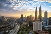 Sunrise in Kuala Lumpur (Nur Ismail Photography) Tags: skyline zeiss sunrise buildings cityscape sony filter alpha klcc nisi petronastwintowers sunstar visitmalaysiayear hazefree akleh sonymalaysia raymaster nurismailphotography a7rii sel1635f4z ilce7rm2