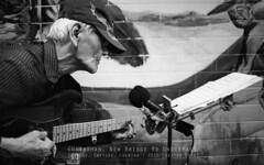 Guitarman (JamCanSing) Tags: blackandwhite musician music film canon kodak guitar trix streetphotography ishootfilm solo busker ultra premium eos1 arista