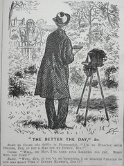 The Better the Day!  - Punch 1873 .. Pose on Sunday morning! (AndyBrii) Tags: london woodcuts satire punch wit cartoons engravings 1873