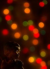 Navidad en el corazn (saparmo) Tags: navidad luces bokeh angelito lucesnavideas coloresdenavidad