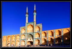 Le monument Amir Chakhmâgh (Yazd, Iran) (L'Abominable Homme de Rires) Tags: travel iran yadz allibert