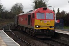 60024 Buckley, Flintshire (Paul Emma) Tags: uk railroad wales train railway buckley flintshire dieseltrain class60 60024