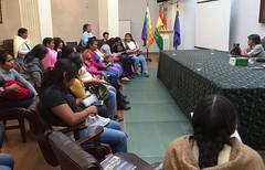 National Programme of the Leadership School for Indigenous Women in Bolivia (FAO of the UN) Tags: bolivia unitednations fao womenempowerment gendermainstreaming indigenouspeoples indigenouswomen leadershipschool faooftheun unfao forointernacionaldemujeresindgenas