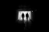 II (maekke) Tags: zürich silhouette man underground bw noiretblanc highcontrast availablelight 50mm f14 canon eos6d 2016 switzerland ch streetphotography