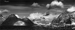 Loch Scavaig and the Cuillins. BW (The Terry Eve Archive) Tags: ngc elgol lochscavaig cuillins scotland scavaig terryevephotography mountains westcoast skye isleofskye