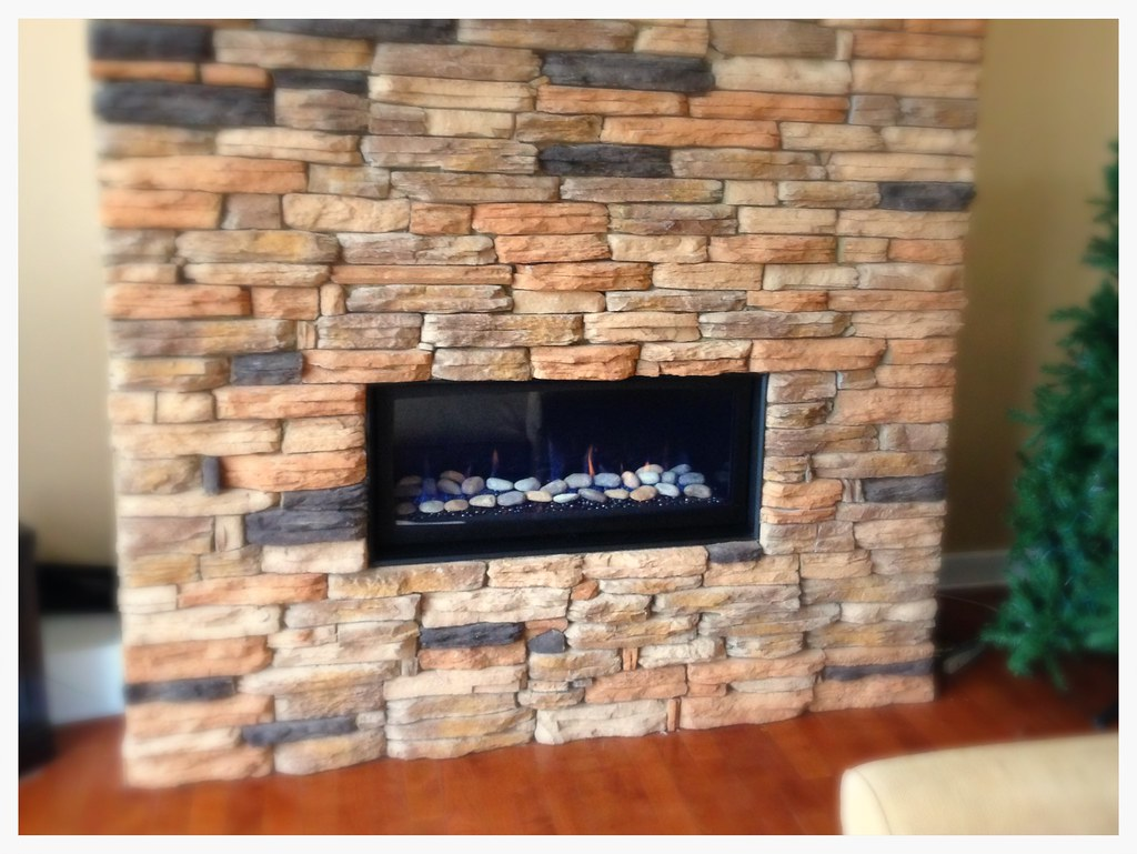 Majestic Linear Fireplace. Chattanooga, Tn.
