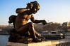 WINTER LIGHT (Rober1000x) Tags: bronze sculpture bridge champs elysees france francia river sena senna europa europe paris 2016 2017 winter architecture arquitectura