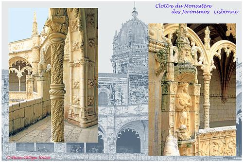Lisbonne ©cloître des Jéronimos