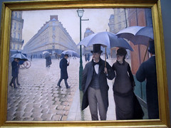 Paris Street; Rainy Day (daryl_mitchell) Tags: chicago illinois usa art institute summer 2016 painting gustave caillebotte