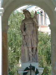 Baja, Szent Flórián-szobor