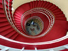 State House staircase, Freetown (marukomu) Tags: statehouse freetown sierraleone staircase world map red carpet
