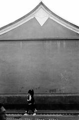 By a Temple (風傳影像 SUNRISE@DAWN photography) Tags: 135film 35mmfilm autorokkorpf58mmf14 bw bnw bwmonochromatic ilfordpan400 minoltasrt101black analogue blackandwhite filmcamera monochrome shot1600